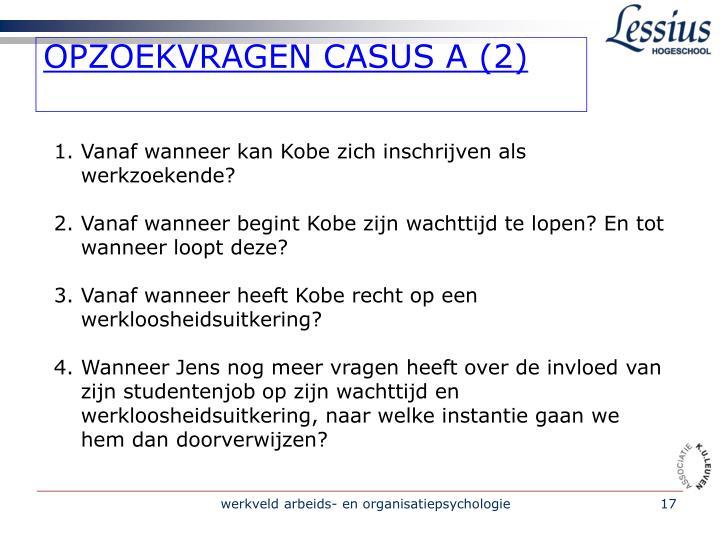 OPZOEKVRAGEN CASUS A (2)