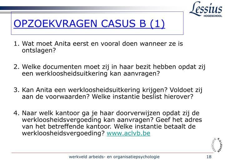 OPZOEKVRAGEN CASUS B (1)
