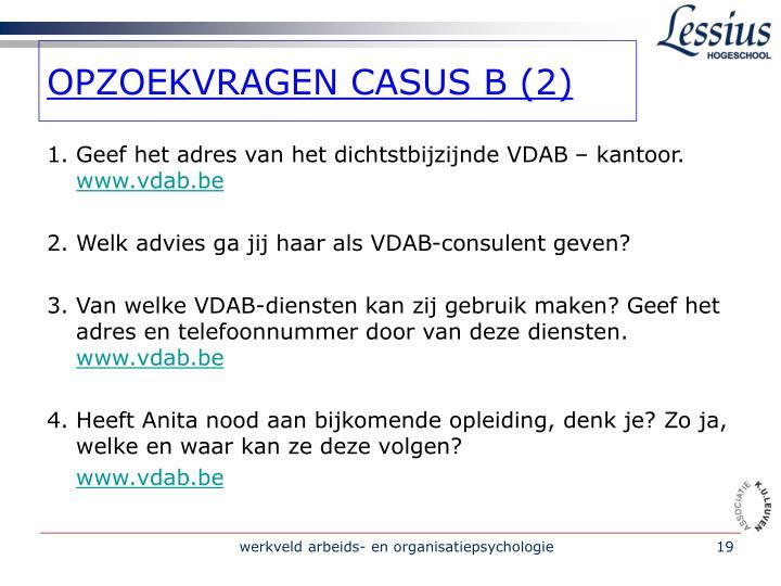OPZOEKVRAGEN CASUS B (2)