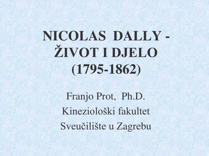 NICOLAS  DALLY -