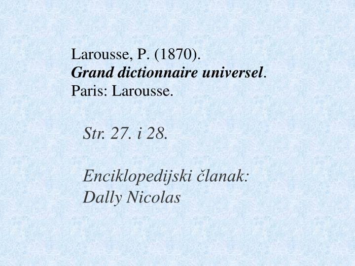 Str. 27. i 28.