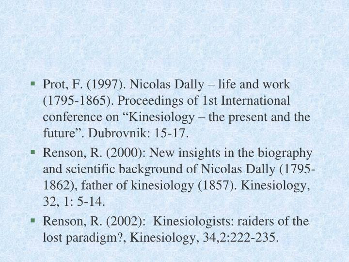 Prot, F. (1997). Nicolas