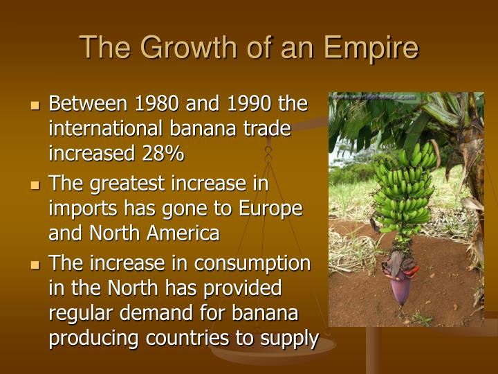 The Growth of an Empire