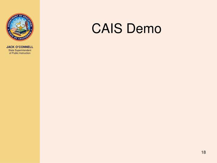 CAIS Demo