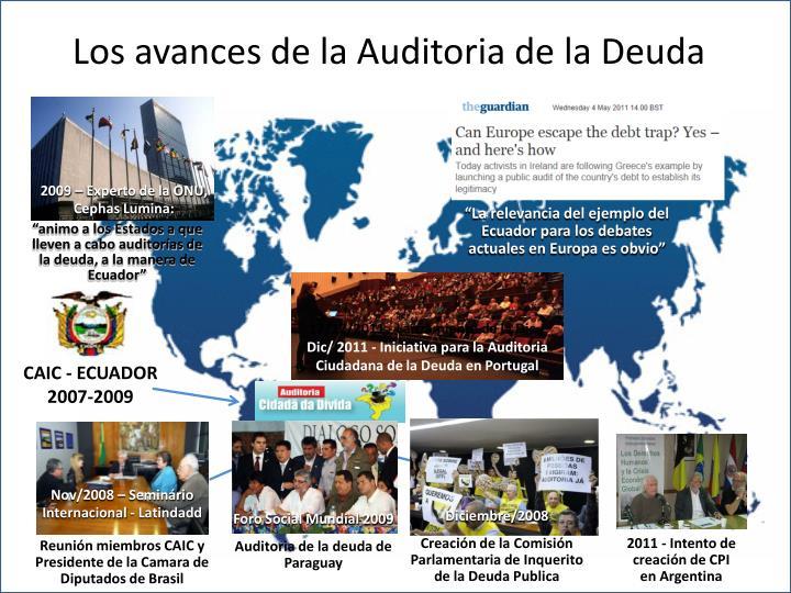2009 – Experto de la ONU, Cephas Lumina: