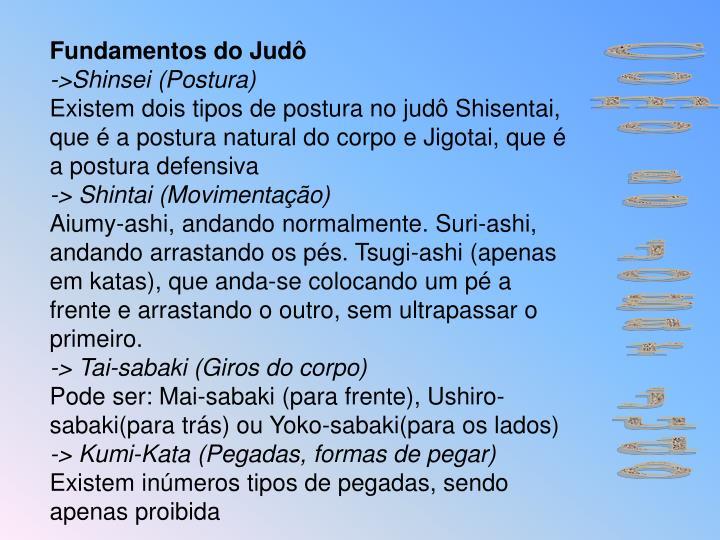 Fundamentos do Judô