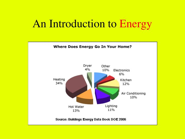 an introduction to energy