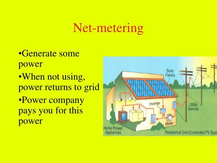 Net-metering