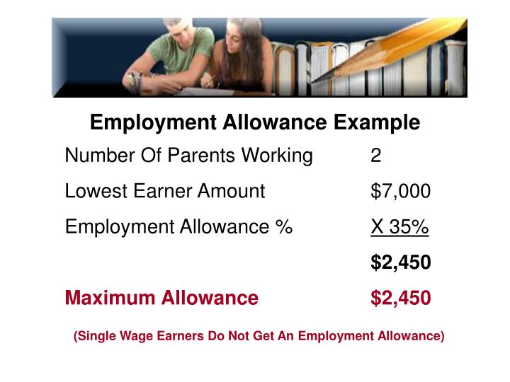 Employment Allowance Example