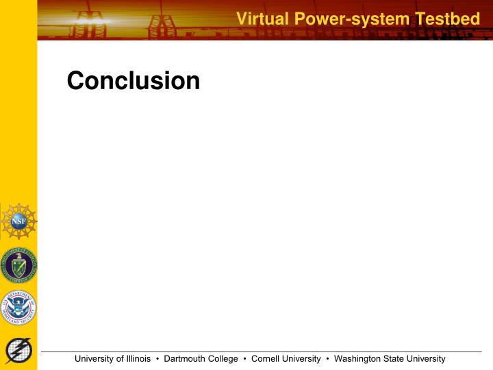 Virtual Power-system Testbed
