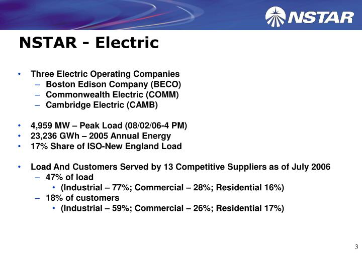 Nstar electric