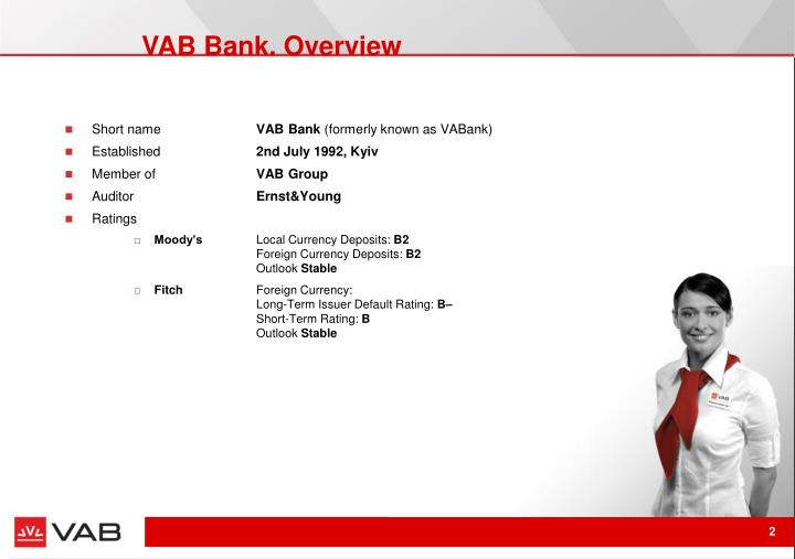 Vab bank overview
