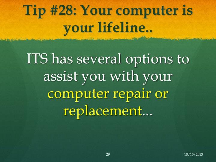 Tip #28: