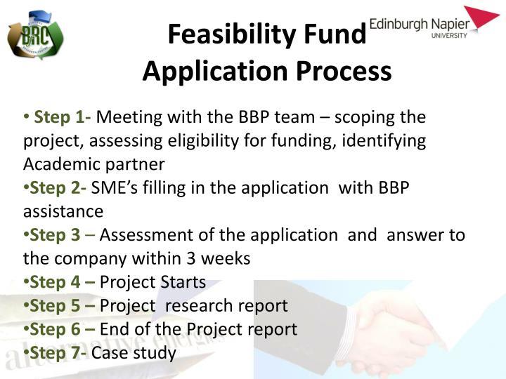 Feasibility Fund
