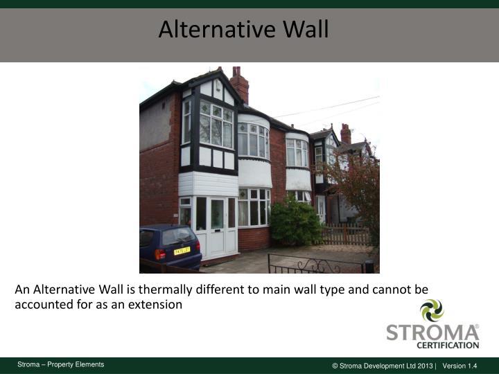Alternative Wall