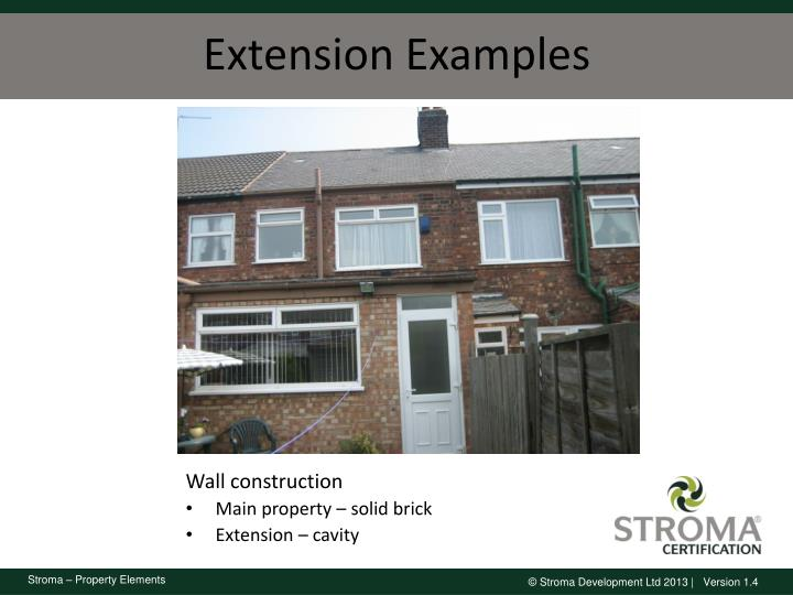 Extension Examples