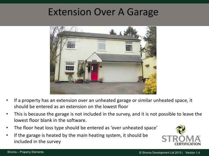 Extension Over A Garage