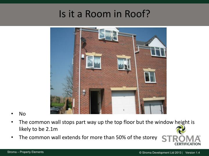 Is it a Room in Roof?
