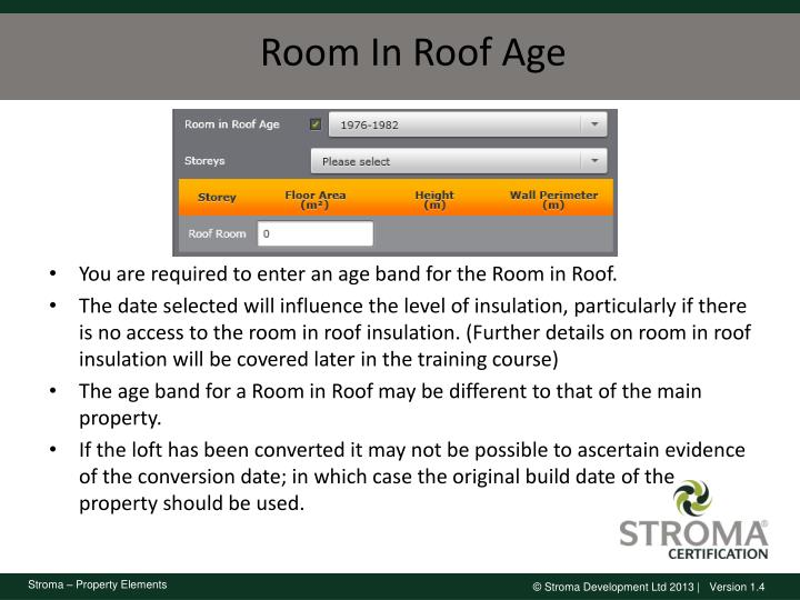 Room In Roof Age