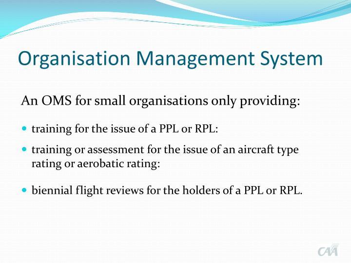 Organisation Management System
