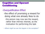 cognition and operant conditioning1