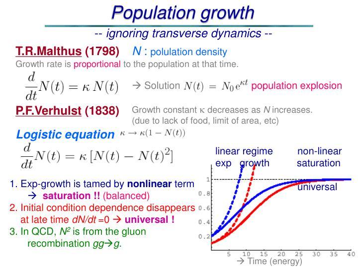 T.R.Malthus