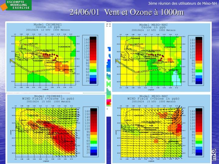 24/06/01  Vent et Ozone à 1000m