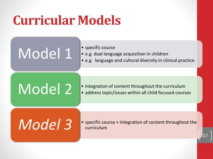Curricular Models