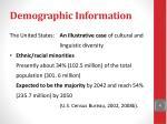 demographic information2