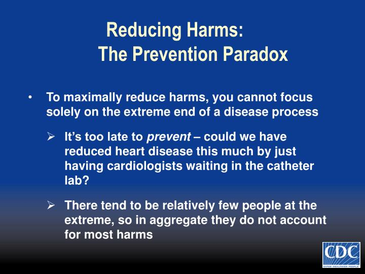 Reducing Harms: