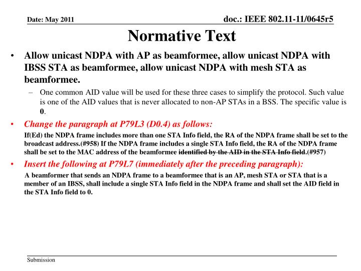 Normative Text