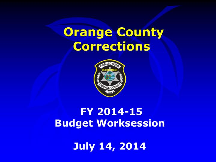 Orange County Corrections