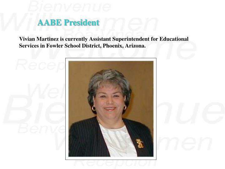 Vivian Martinez is currently Assistant Superintendent for Educational Services in Fowler School Dist...