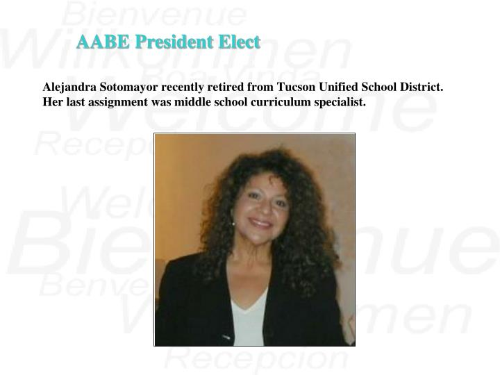 AABE President Elect