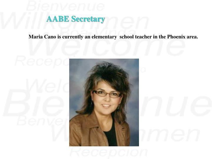 AABE Secretary