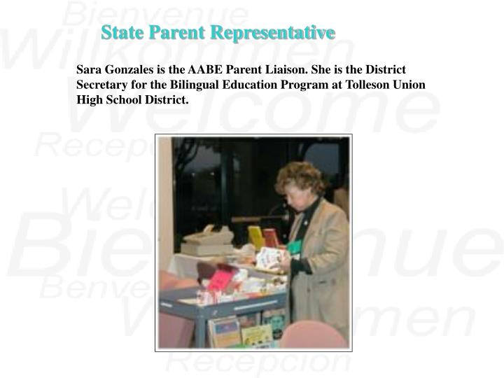 State Parent Representative
