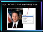 right click on al s picture choose copy image