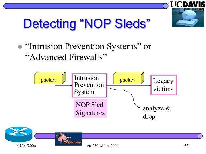 "Detecting ""NOP Sleds"""