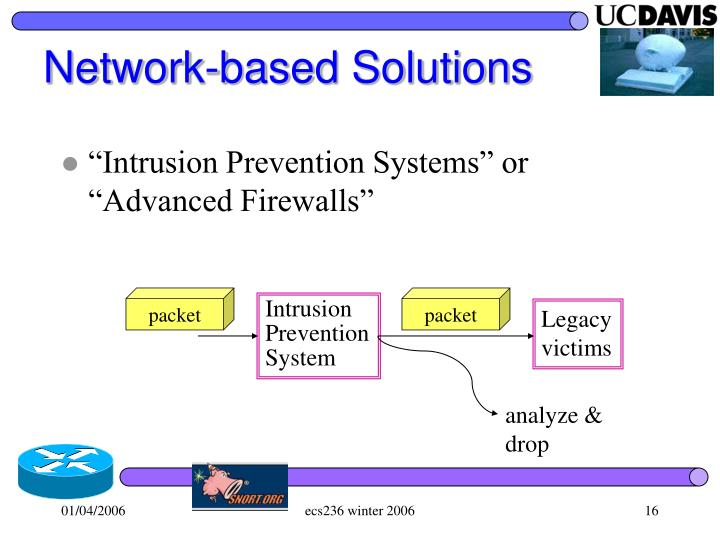 Network-based Solutions