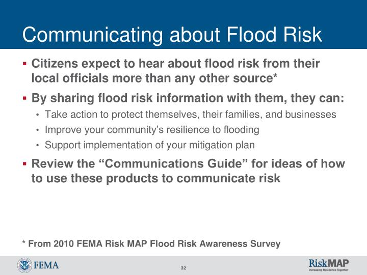 Communicating about Flood Risk
