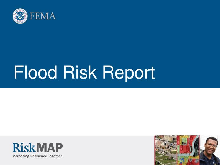 Flood Risk Report