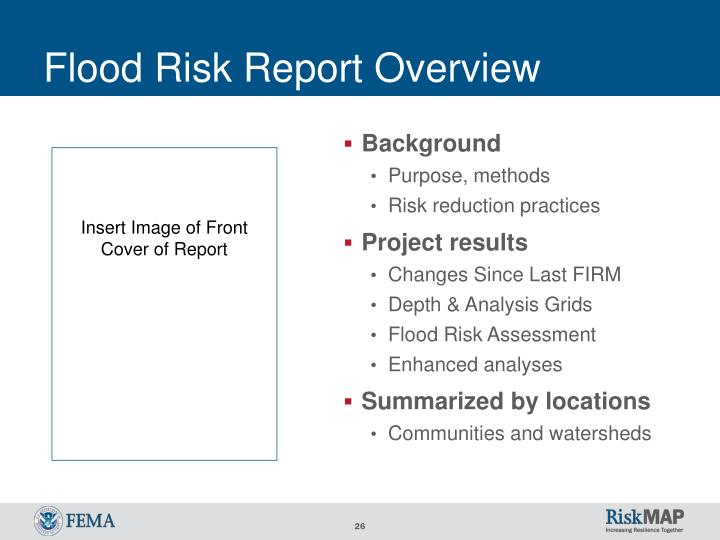 Flood Risk Report Overview