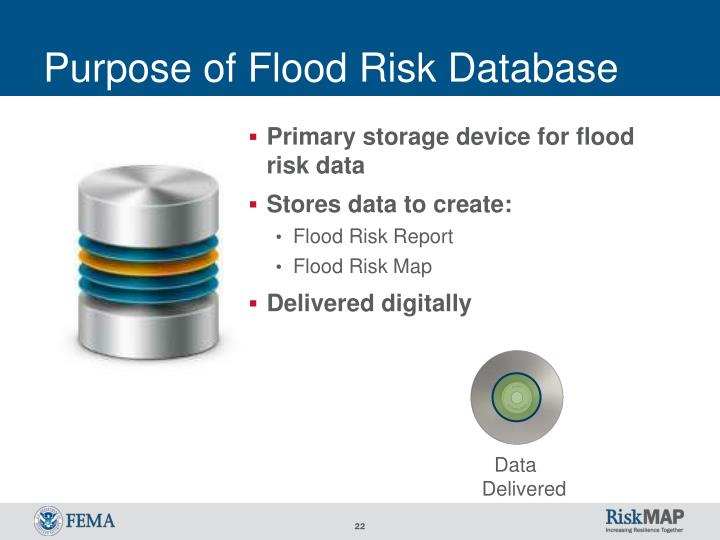 Purpose of Flood Risk Database