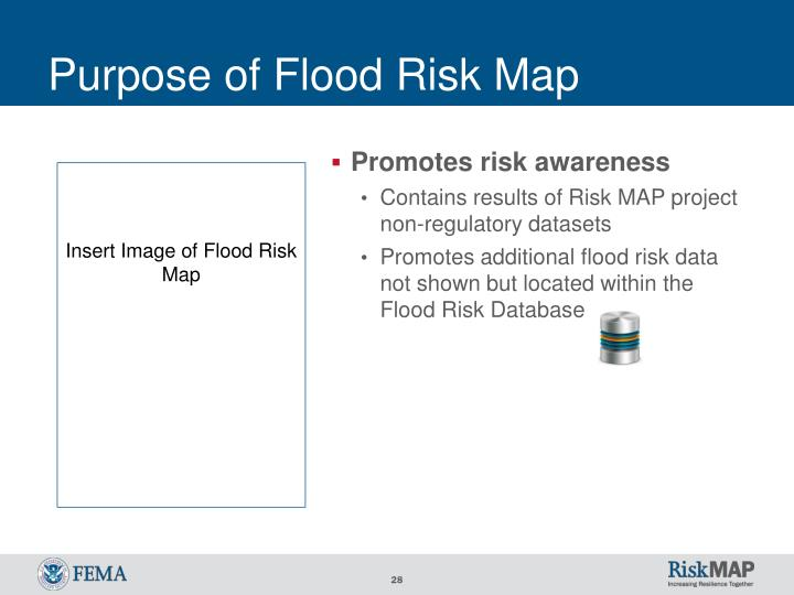 Purpose of Flood Risk Map