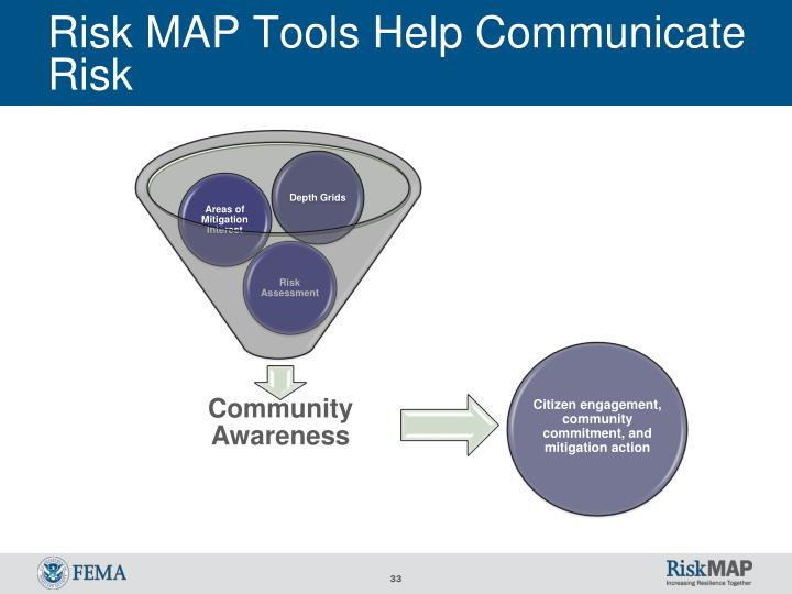 Risk MAP Tools Help Communicate Risk