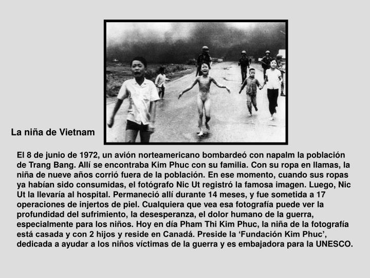 La niña de Vietnam