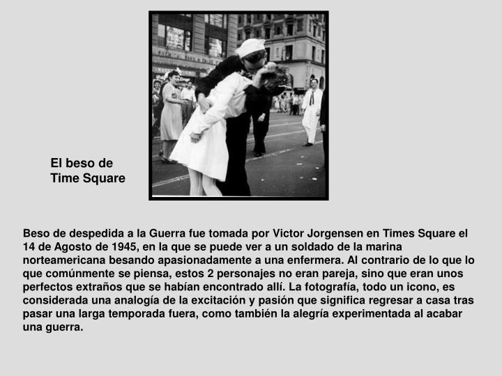 El beso de Time Square