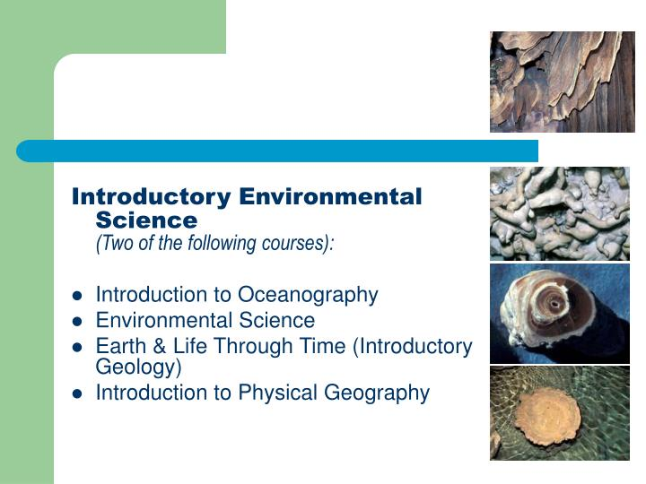 Introductory Environmental Science
