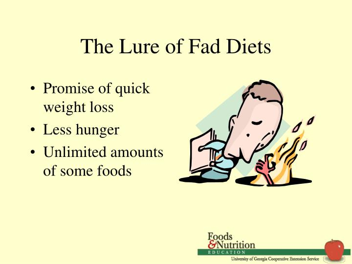 fad diet presentation (drgandhi, 1994 p90) in the words of merriam webster, a fad diet is a diet that is followed for a time with exaggerated zeal its popularity spreads fast an.