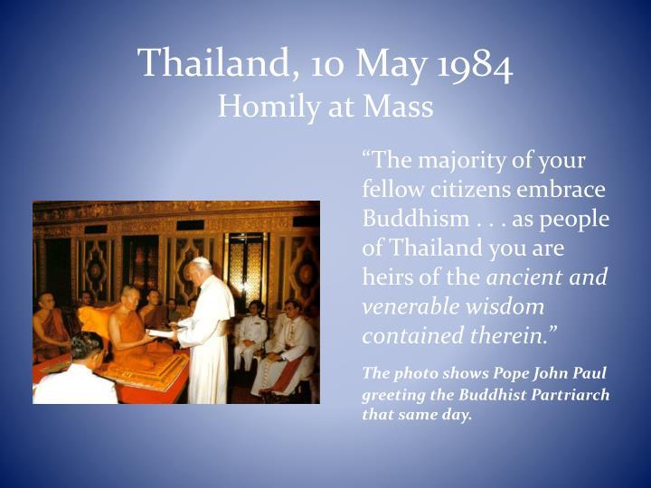 Thailand, 10 May 1984